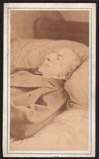 Photographie mortuaire. Père du Docteur Péan. Vers 1870. Yvon. Vendome
