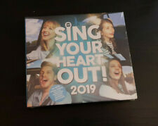 CD DOUBLE ALBUM - SING YOUR HEART OUT - 2019 - SAM SMITH / JESS GLYNNE / ARIANA