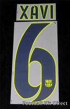 Barcelona Xavi 6 2014-15 Camiseta De Fútbol Nombre/Número Conjunto de Distancia Reproductor De Tamaño