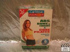 Caribbean Workout Shelly McDonald ABS Buns and Thighs/Core Pilates DVD NEW