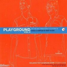 Eddy & Dus - Playground Vol. 5 - CD MIXED FUTURE JAZZ CHILL OUT LOUNGE DOWNTEMPO