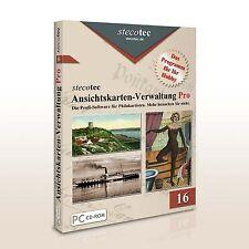 Stecotec Ansichtskarten-Verwaltung Pro: Software für Ihre Postkarten [CD-ROM]