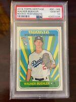 Walker Buehler 2018 Rookie Topps PSA 10 GEM MINT Los Angeles Dodgers CY YOUNG 🔥