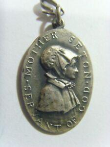 antique catholic mother Seton servant of God pendant Emmitsburg MD 51023
