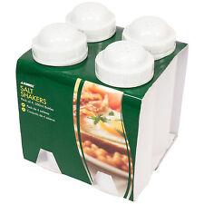 Confezione da 4 da asporto in plastica saliere Dispenser Fish & Chip Pepper SHOP CAFE