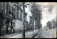 """VITRY-sur-SEINE (94) Moto SIDE-CAR au BUREAU de TABAC & BUVETTE """"A LA CIVETTE"""""""
