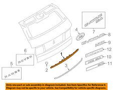 LAND ROVER OEM Range Rover Evoque Liftgate Tailgate-Finish Molding LR029130