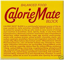 Calorie Mate block 4 pieces Chocolate flavored balance nutritional food JAPANESE