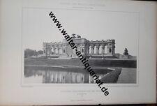 5 große Fotodrucke von 1892 Schloss Schönbrunn bei Wien