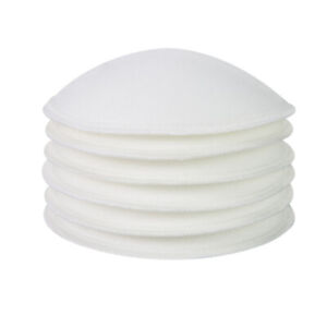 4.3 in Reusable Cotton Breast Pads White Comfort Maternity Nursing Pads 10 Pack