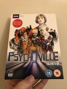 Psychoville - Series 2 DVD  BBC TV Comedy Reece Shearsmith Steve Pemberton