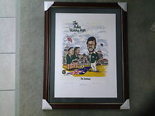 ' THE TACTICIANS' - 1989 ASHES VICTORY - FRAMED SIGNED COA LIMITED EDITION