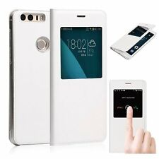 MaxiPRO™ Huawei Honor 8 Premium Smart Flip S-view PU Leather case cover Defender