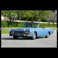 #pha.002332 Photo LINCOLN CONTINENTAL CONVERTIBLE 1967 Car Auto