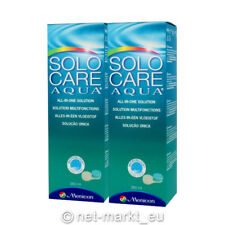Solo Care Aqua Pflegemittel All in One Lösung + Behälter - 2 x 360 ml