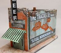 Downtown Deco O On3 On30 Scale Trackside Tavern Building kit + $30 Sidewalks!