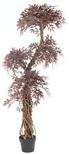 Red Japanese Fruticosa Artificial Trees & Plants | 6ft Artificial Topiary tree