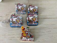 Trader Joes's 5 Rose Bowl Collectible Pins 2004 And 2006
