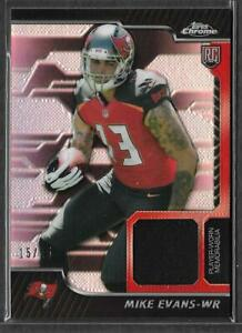 MIKE EVANS 2014 TOPPS CHROME RELIC 15/25 RARE JERSEY RELIC ROOKIE RC BUCCANEERS!