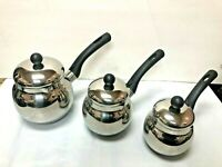 Arabic  -turkish espresso Coffee Pot / Stainless steel +cover +plastic handle