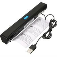 USB Multimedia Mini Speaker Boxen Lautsprecher Stereo für PC Laptop Notebook sai