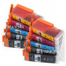 10x PGI650 XL CLI651XL Ink Cartridge for Canon Pixma MG5660 MG6660 MG7160 MG7560