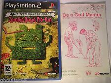 PS2 PS3 AQUA TEEN HUNGER FORCE PLAYSTATION 2 ZOMBIE NINJA PRO AM PS2