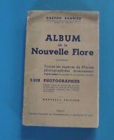 Gaston Bonnier Album de la Nouvelle Flore plantes photographies d'après nature