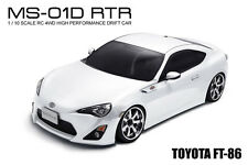 MST MS-01D RTR 1/10 Scale 4WD RC Drift Car (2.4G) w/carbody- TOYOTA FT86 (White)