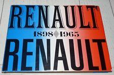 RENAULT 1898-1965 Y. RICHARD AUTOMOBILE REGIE LOUIS AUTO 4 CV DAUPHINE JUVA4
