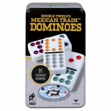 Cardinal Double Twelve Mexican Train Dominoes Game