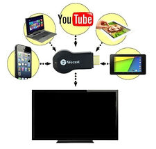 Miracast DLNA WiFi Display Receiver Dongle HD Media Tv stick Airplay HDMI 1080P