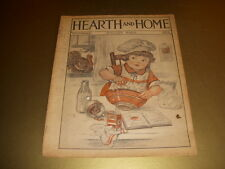 Vintage HEARTH AND HOME Magazine, THANKSGIVING Cover, November, 1926!