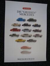 "Poster Wiking Die ""Grossen"" Mercedes (JS)"