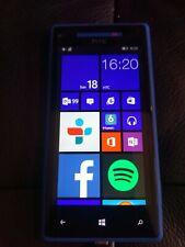 "HTC Windows 8X PM23200 Smartphone 16GB 4.3"" LCD Blue Beats Audio"