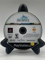 Final Fantasy XI Online PS2 Disc Only Tested Sony PlayStation 2 Ps2 Game Good
