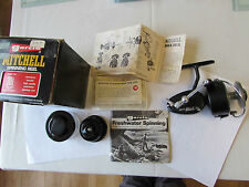 unused vintage garcia mitchell france 301 coarse spinning fishing reel boxed etc