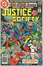 All-Star Comics #74 VG Oct 1978 Justice Society of America Superman Flash Robin