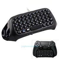 Mini Bluetooth Wireless Keyboard Chatpad Controller For Sony PS4 PlayStation 4