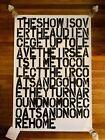 Christopher Wool & Felix Gonzalez-Torres The Show Is Over poster