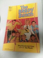 THE BRADY BUNCH #2 dell comics 1970 bronze age tv show photo cover low print run
