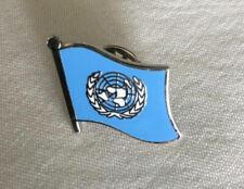 100 United Nations Flag Enamel Lapel Pins