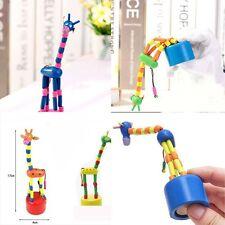 Swing Wood Colorful Wooden Animal Puzzles Giraffe Toy Giraffe Dancing Rocking