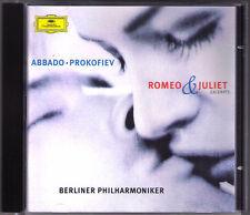 Claudio ABBADO: PROKOFIEV Romeo and Juliet (Ballet Selections) CD Prokofjew BPO