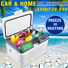 12L 12V/220V Portable Mini Refrigerator Car Camping Home Fridge Cooler & Warmer