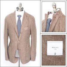 $1595 NWT BOGLIOLI Hopsack Tweed Cashmere Unconstructed Travel Jacket 56 46/44 R