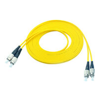 20M FC to FC Duplex Single Mode 9/125 Optical Fiber Patch Cord Jumper Cable SM