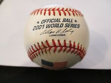 New Official 2001 World Series Ceremonial 1st Pitch Baseball