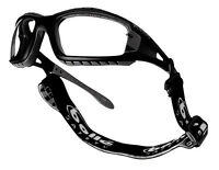 Bolle Tracker Safety Glasses Clear Lens - Airsoft Eye Protection Army Goggles