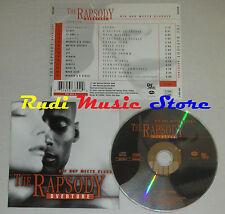 CD THE RAPSODY OVERTURE hip hop meets classic WARREN G SISSEL ONYX JAY lp (C13)